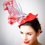 The butterfly, a Nicely Made in China hat by Elisabeth Koch.(Ph.Stephen Lo)