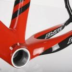 Boitier de pedalier renforce pour un  transfert de puissance optimum.