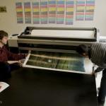 一台高品质的印刷机