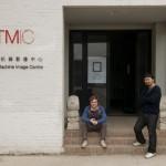 Matthieu Torrano和徐熹在TMIC门口