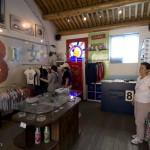 L'intérieur de la boutique de Nan Luo Gu Xiang à Pékin.
