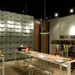 La boutique récemment ouverte dans le Sanlitun Village North à Pékin.