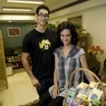 Alia Malik et son frère Safi dans les bureaux pékinois de Shangrila Farms.
