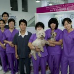 The nurses of the newly opened Stone & Beck clinic in Shunyi, Beijing.