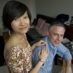 1.EVERARD+WANG的设计师王蕾和总经理Ariel Welby-Everard