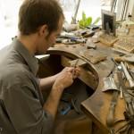 8.Nicolas Favard在他的三里屯工作室里