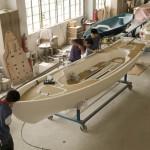 2.为斯堪的纳维亚游艇公司制作的Scandinavian dory 18