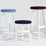 "Les tabourets ""Factory"" de la Collection Sean Dix au design ""Nicely Made in China""."