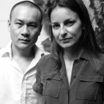 A Franco-Chinese team: Xu Ming -interior architect/designer- and architect Virginie Moriette.