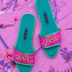 Nicely Made in China mules by Suzhou Cobblers.