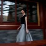 """Un modèle """"rechenberg"""" durant le défilé 2009 à l'hôtel Aman du Palais d'été à Pékin."""