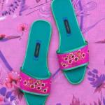 5.漂亮的Suzhou Cobblers无跟拖鞋