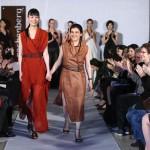 """Kathrin von Rechenberg owner/designer of """"rechenberg couture""""."""