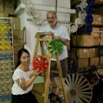 Stella Shaw and Lucien Gambarota, two of the SURE Initiative partners, in their Hong Kong workshop.