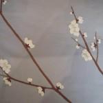 Un détail de la collection Spring sur un tissu Océan par Rouge Baiser.