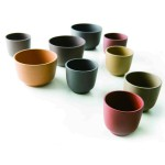 Nicely Made in China tea cups: the Zisha project by Neri & Hu, Shanghai-based designers.