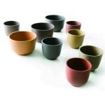 2.可爱的茶杯:由上海设计师组合如恩制作Neri & Hu设计的紫砂作品