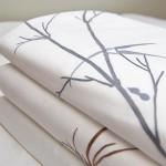 3.红唇家居Rouge Baiser出品的刺绣床上织物细节图。