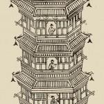 4.中国宋朝的开封天文钟塔。它为Adrien Choux提供了设计钟表的灵感。