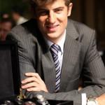 Adrien Choux le propriétaire de The Chinese Timekeeper, un nouveau fabricant de montres.