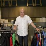 Mr Hans Schallenberger, le fondateur et directeur de Ozark photographié dans son bureau de Hong Kong.