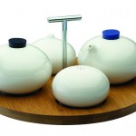 Loveramics condiment set from the Tripod collection designed by Simon Stevens.