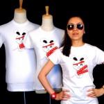 Le dessin vainqueur de concours de juin 2011 sur un T-shirt CreativCulture.