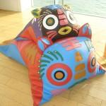 Les 2 sofas « Tiger » créés par Hoi Ming Fung et Baldwin Pui pour le projet «Fatto a Mano » de Fendi.