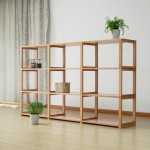 木智工坊的木书架