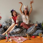 Shanghai-based Liza Serratore and Claire Russo, LuRu Home founders, have given Nankeen centre stage in their home decoration business.