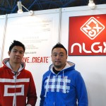 NLGX Design founders  Ed Hung (L) and Michel Sutyadi (R) photographed in a NLGX store.