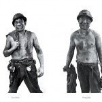 Song Chao series of portraits of Chinese miners was published by Thircuir Editions.