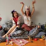 Liza Serratore and Claire Russo, les fondatrices de LuRu Home sont basées à Shanghai et ont placé le Nankeen au centre de leur entreprise de décoration intérieure.