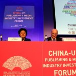 Joanna Dodd of the Rochester PR Group and Chloe Liang China team manager organized the Sino-UK Publishing and Media Industry Investment Forum on 15 April 2012, during the London Book Fair China Market Focus, attended by high profile government officials from both China and the UK.