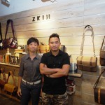 Yee Chan (Left) and Quincy Wong (Right) the two bag designers who founded Zkin in Hong Kong who's now fast becoming a major player on the photographic bags market.